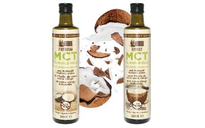 Lancement des huiles de coco MCT bio et vegan AMANPRANA