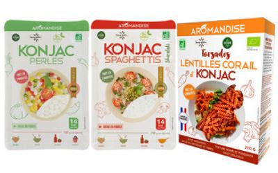 AROMANDISE invite le konjac à table, un allié minceur, vegan et sans gluten !