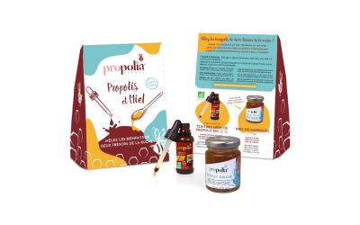 Propolia : Mêlez les bienfaits de la Propolis & du Miel