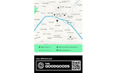 The Good Goods lance une carte interactive