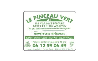 Le Pinceau Vert : Un parfum de peinture biologique aux agrumes