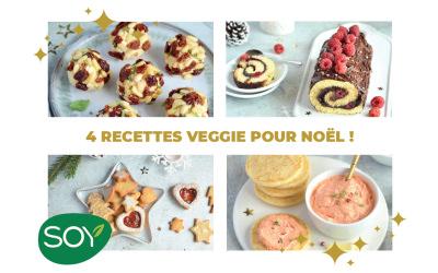 SOY – Nouvelles recettes veggie de Noël