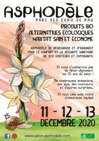 Salon Asphodèle les 11, 12, 13 décembre 2020 à Pau (64)