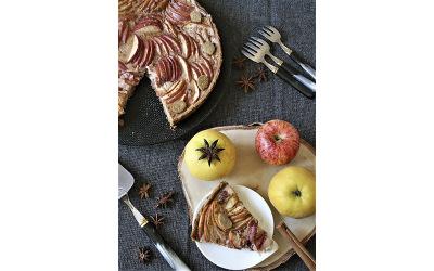Tarte aux pommes par Marie Lossy