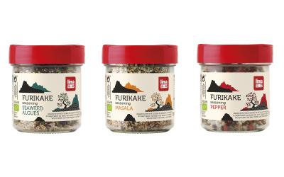 Furikake de Lima : Condiments BIO japonais pour twitter la cuisine végétale