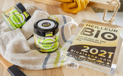 La Mayonnalg bretonne élue meilleur produit BIO 2021