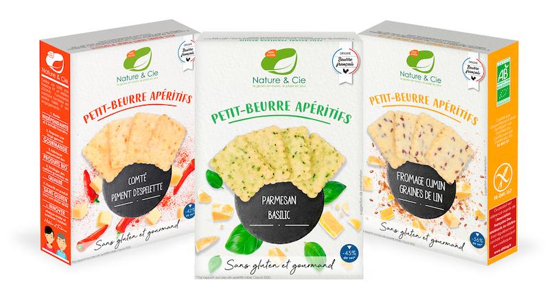 Les Petit-beurre artisanaux et bio de Nature & Cie au rayon apéritif