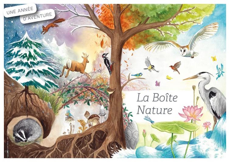 La Boîte Nature : une box fun et solidaire pour vivre des moments complices en famille