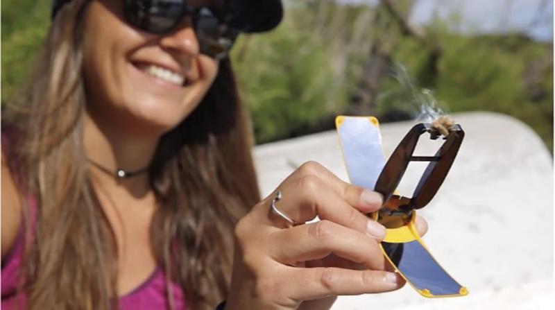 Suncase Gear®, l'allume-feu solaire astucieux, écolo et durable qui va vous suivre tout l'été, idéal pour vos barbecues comme feux de camp ! en promo pour la tribu de l'écolomag