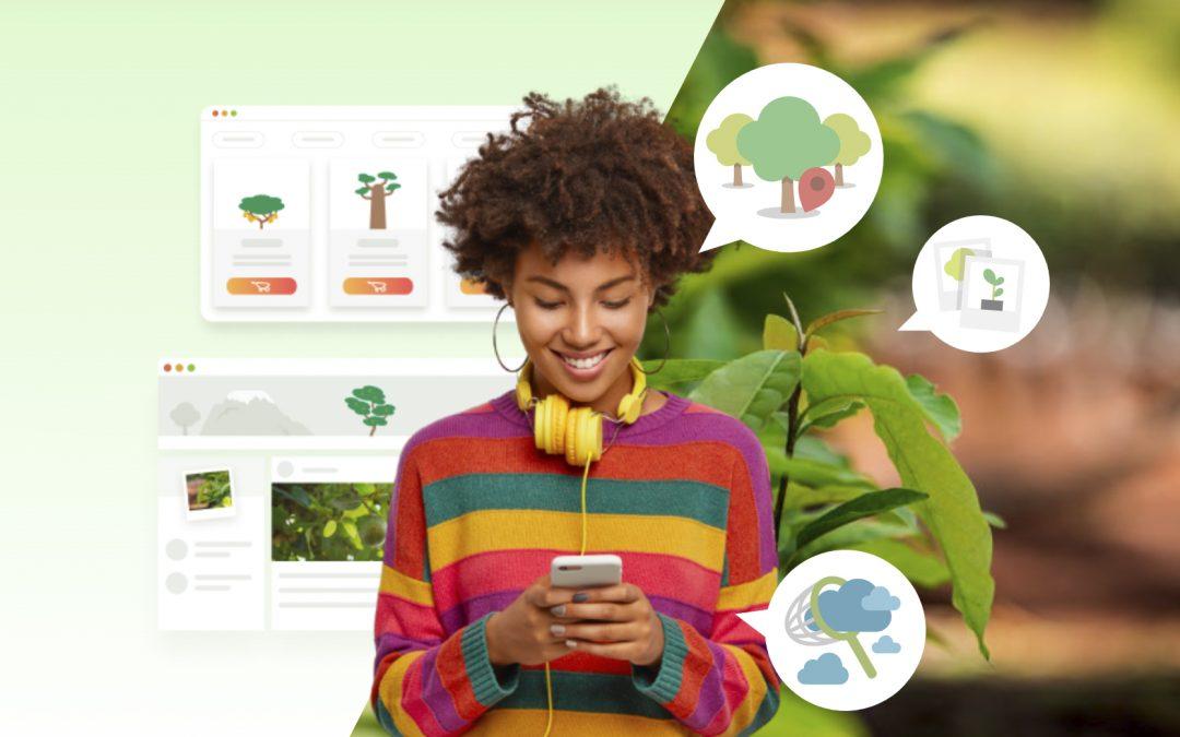 Pour la 50è Journée de la Terre, Treedom s'engage pour la planète et double la mise en plantant un arbre supplémentaire pour chaque arbre acheté du 19 au 26 avril 2021