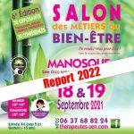 SALON DES METIERS DU BIEN ETRE 18 et 19 SEPTEMBRE 2021 à MANOSQUE (04)