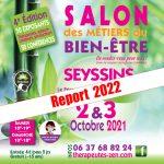 SALON DES METIERS DU BIEN-ÊTRE 2 & 3 OCTOBRE 2021 - SEYSSINS (38)