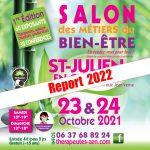 SALON DES METIERS DU BIEN-ÊTRE 23 & 24 OCTOBRE 2021 - SAINT-JULIEN (74)