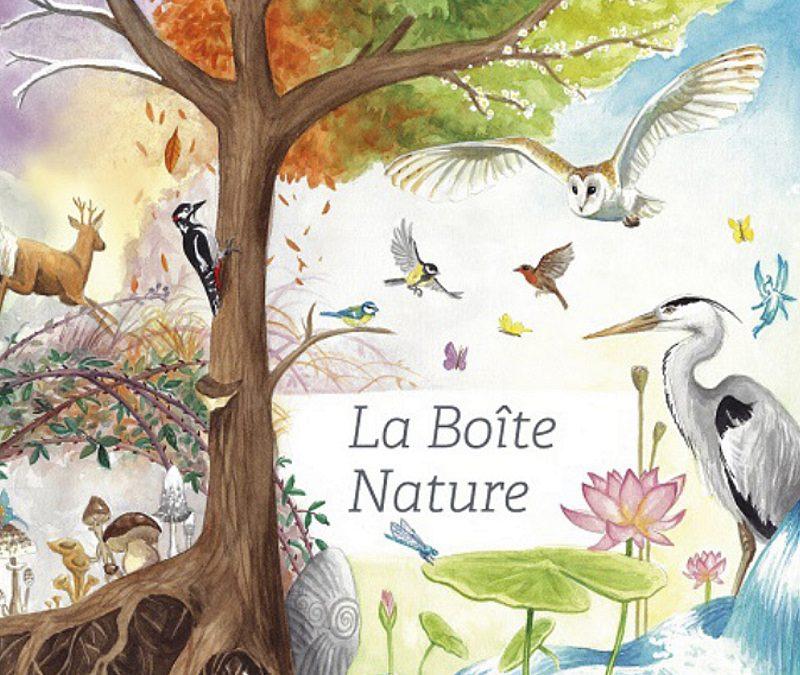 La box La Boîte Nature propose de partir à la découverte de la nature en famille