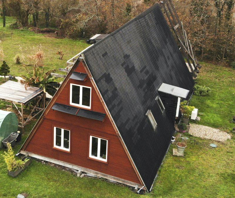 La maison en A, un projet de construction féminin et solidaire pour 40 000 €