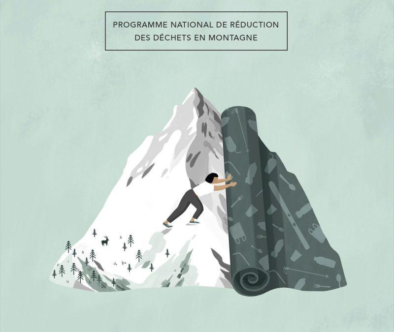 Montagne Zéro Déchet, un programme national de réduction des déchets en montagne
