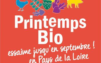 22e édition du Printemps Bio Du 15 mai au 15 septembre 2021