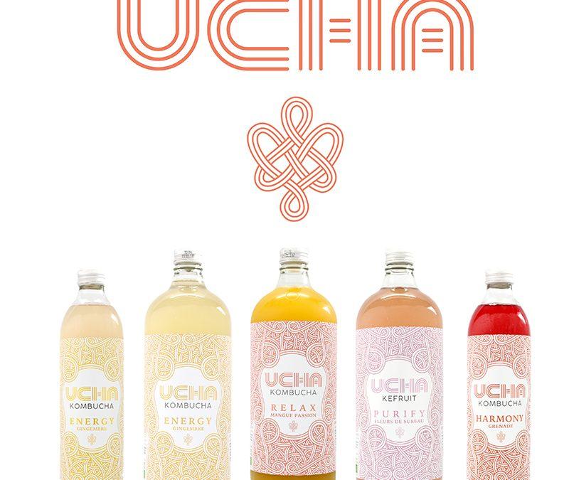 UCHA des boissons vivantes pour le corps et l'esprit disponibles en exclusivité chez Monoprix