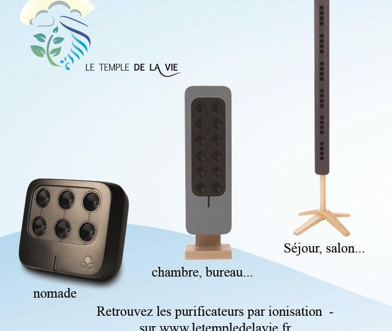 Que peut apporter la purification de l'air par ionisation ?