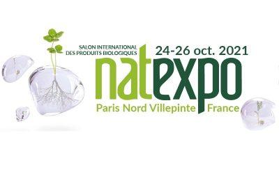 NATEXPO 2021 À PARIS :  du 24 au 26 octobre 2021