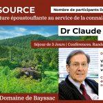 Séjour Conférences, Randonnées, Nutrition à la SOURCE : Votre système immunitaire est votre meilleur allié ! avec le dr Claude Lagarde