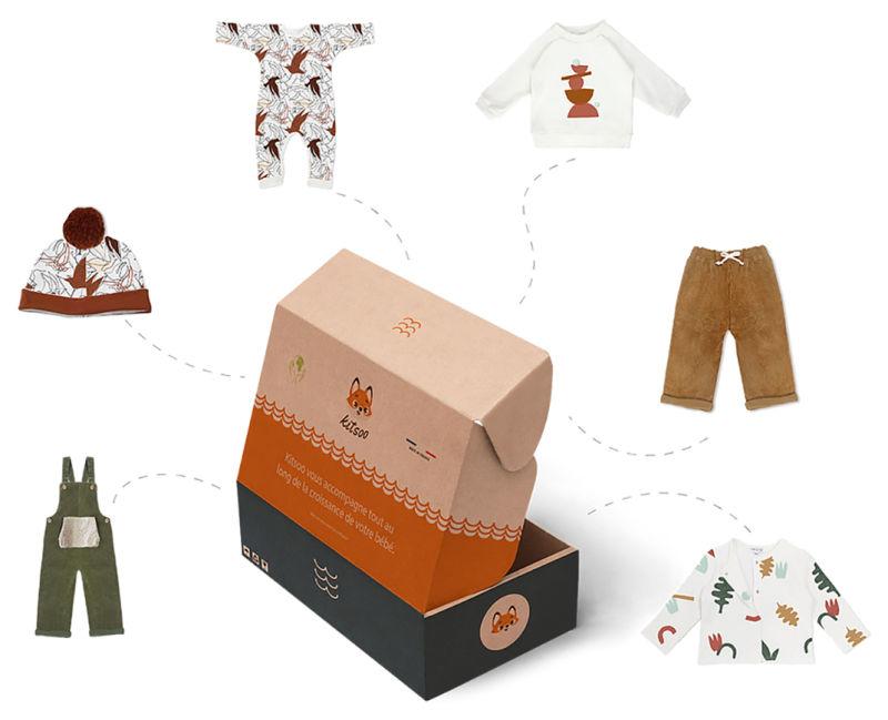 Kitsoo, un service de location de vêtements bio et Made in France