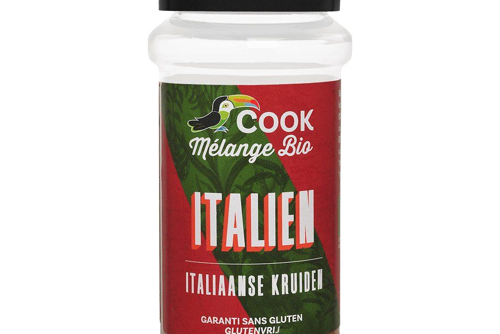 Italien, mélange d'épices Bio Cook Arcadie