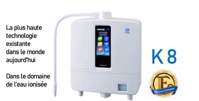 LEVELUK K8, ioniseur d'eau par electrolyse