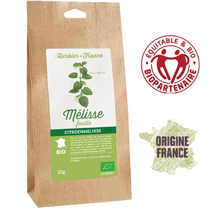 Mélisse l'Herbier de France